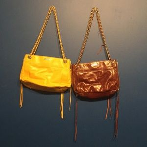 Rebecca Minkoff bags - yellow and brown leather